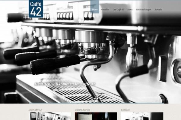 Caffè 42 Homepage portfolio Portfolio caffe42 600x400