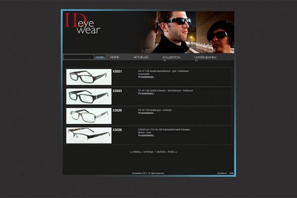 ID Eyewear Homepage portfolio Portfolio ideywear 600x400