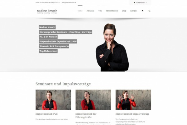 Nadine Kmoth – Homepage portfolio Portfolio nadine 600x400