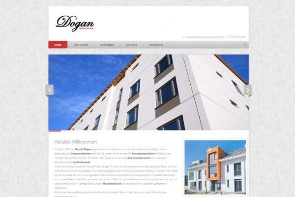 Dogan – Homepage portfolio Portfolio dogan 600x400