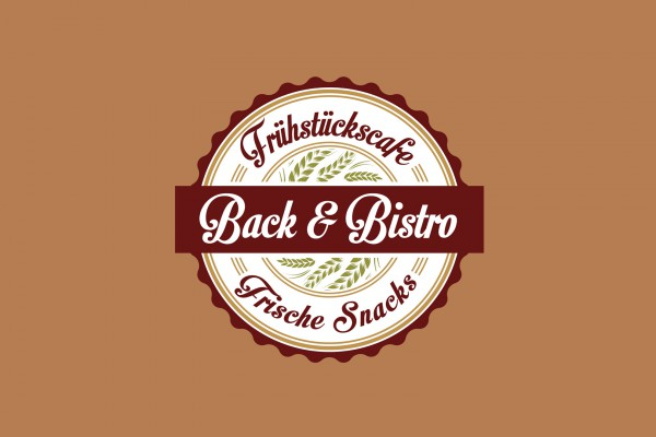 Back&Bistro – Logo portfolio Portfolio backbistrologo 600x400