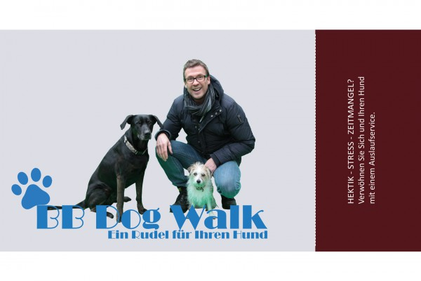 BB Dog Walk – Flyer portfolio Portfolio bbdogwalk 600x400