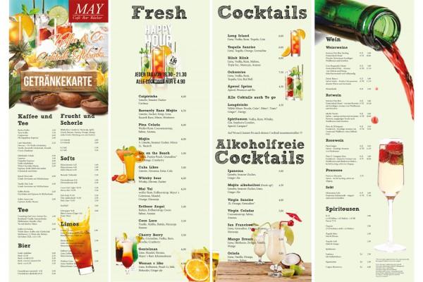 Cafe May Getränkekarte portfolio Portfolio cafemaygetraenkekarte 600x400