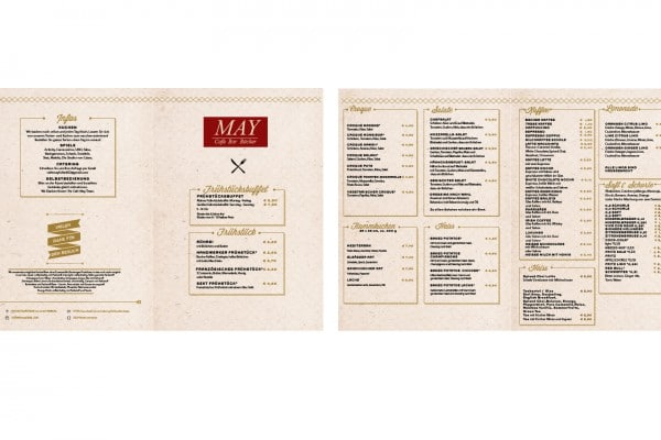 Speisekarte Cafe May 2015 portfolio Portfolio cafemaykarte2015 600x400