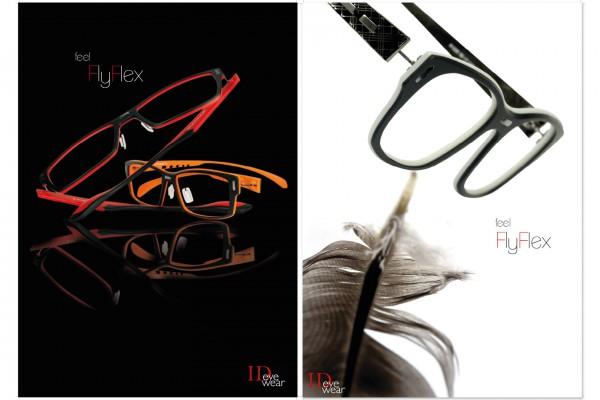 ID Eyewear Plakate für Flyflex Kampagne portfolio Portfolio idplakat 600x400