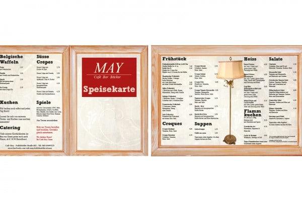 Caffe May Speisekarte portfolio Portfolio mayspeisekarte 600x400