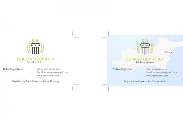 Semaya Aparts – Visitenkarte portfolio Portfolio semaya visitenkarte 600x400