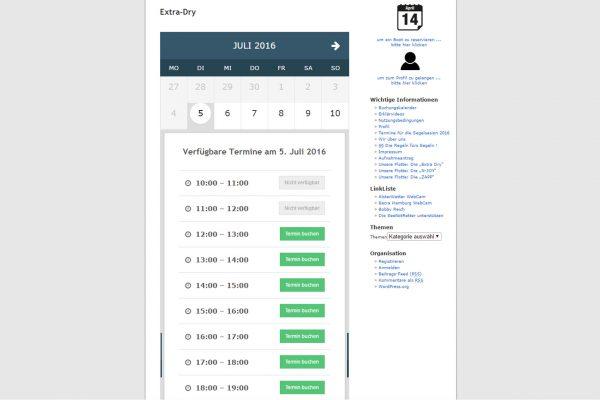 Website-Erweiterung Belegungskalender BSG Alstersegeln portfolio Portfolio bsg 600x400