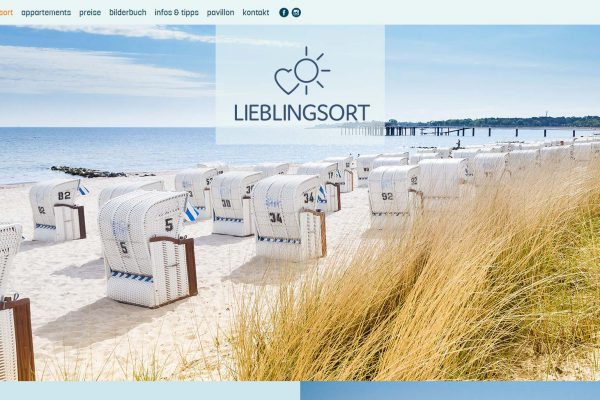 Lieblingsort Ostsee – Homepage medienagentur Home – Elbfabrik Medienagentur lieblingsort portfolio 600x400