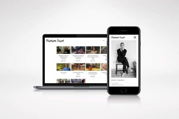 Mariam Noori – Homepage portfolio Portfolio mariam noori hp 600x400