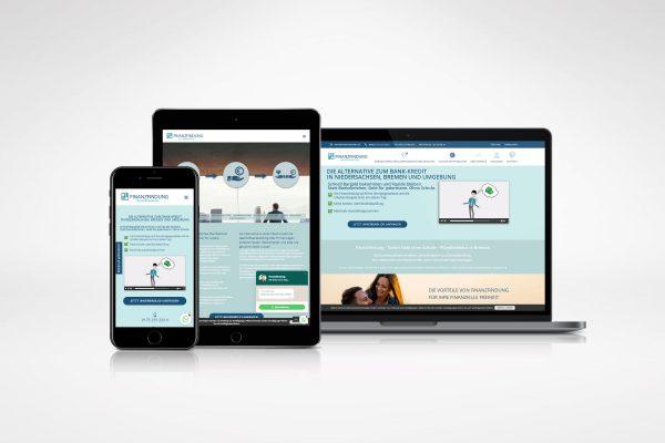Finanzfindung – Homepage medienagentur Home – Elbfabrik Medienagentur portfolio finanzfindung 600x400
