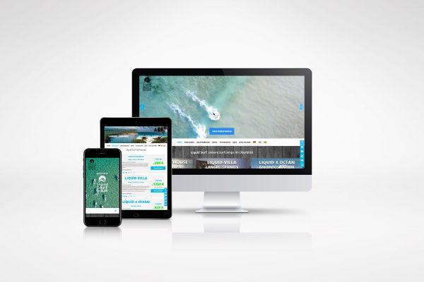 Liquid Surf – Homepage portfolio Portfolio portfolio liquid surf 600x400