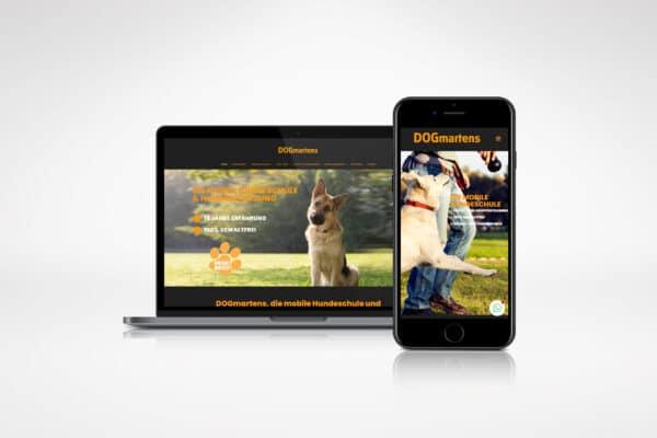 DOGmartens – Homepage portfolio Portfolio dogmartens 600x400