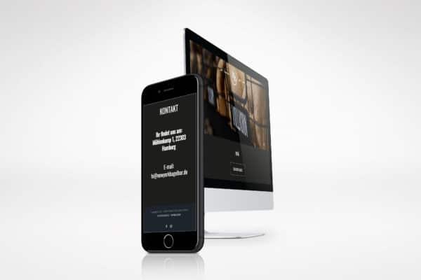 New York Bagel Bar – Homepage medienagentur Home – Elbfabrik Medienagentur nybagel 600x400